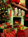 Candles and Fireplace puzzle on TheJigsawPuzzles.com