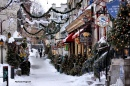 Christmas Time in the Quebec City