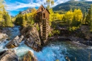 Crystal Mill Wooden Powerhouse