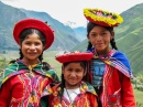 Local Children in Pisac, Peru