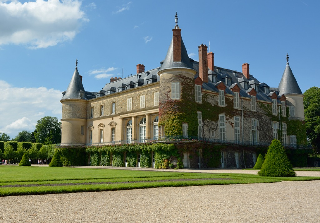 Rambouillet France  city photos gallery : Château de Rambouillet, France jigsaw puzzle in Castles puzzles on ...