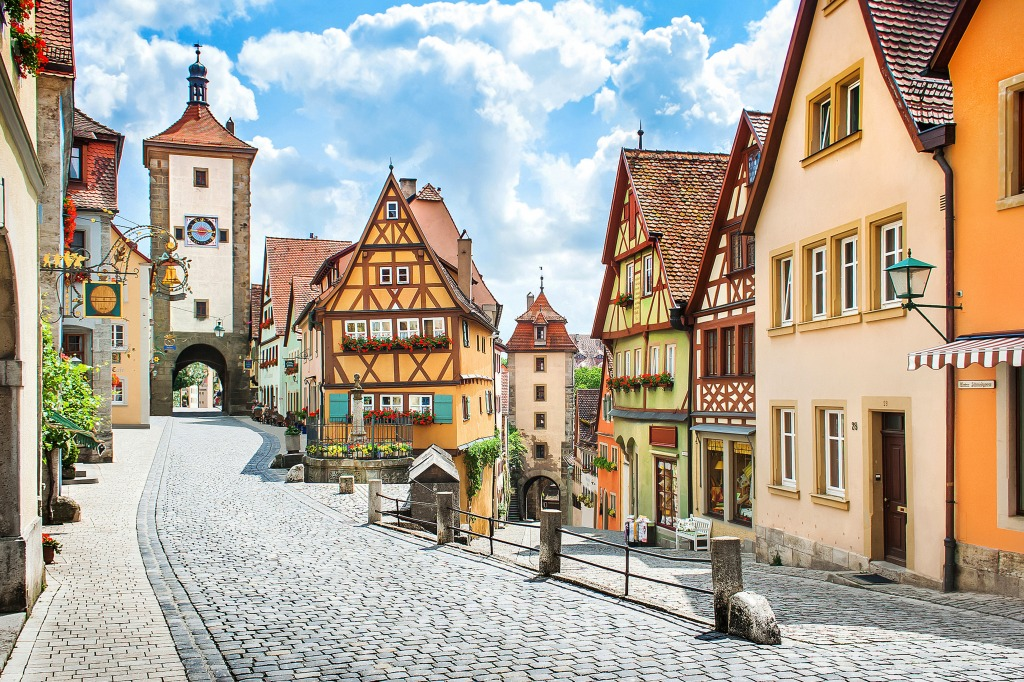 rothenburg ob der tauber germany jigsaw puzzle in puzzle of the day puzzles on. Black Bedroom Furniture Sets. Home Design Ideas