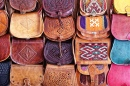 Leather Bags in Morocco