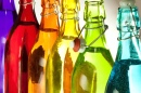 Bottles of Different Colors
