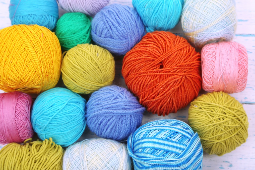 Knitting Yarn Fibers : Knitting yarns jigsaw puzzle in handmade puzzles on
