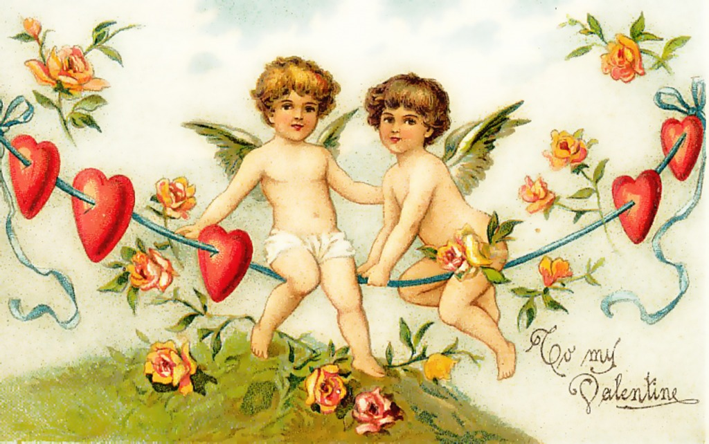 Картинки для декупажа с днем святого валентина