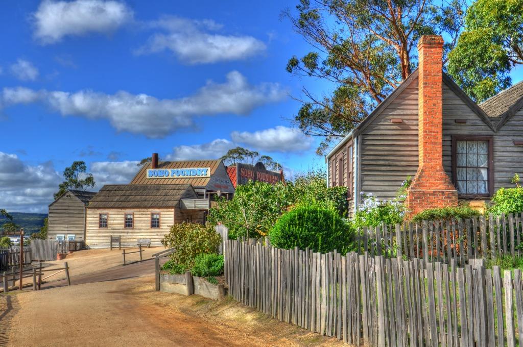 Ballarat Australia  city pictures gallery : Taylor's Cottage, Ballarat, Australia jigsaw puzzle in Street View ...