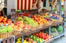 Fruit Stall in the Italian Market