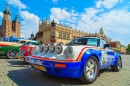 Annual Classic Car Race in Cracow