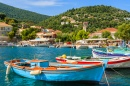 Port of Kioni, Ithaka Island, Greece