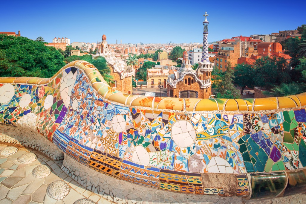 Park Guell In Barcelona Spain Jigsaw Puzzle Of The Day
