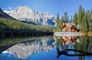 Emerald Lake, BC, Canadian Rockies
