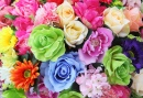 Bright Artificial Flowers