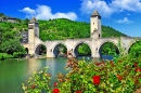 Valentre Bridge, Cahors, France
