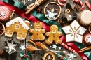Homemade Christmas Gingerbread Cookies
