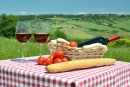 Dining in Tuscany, Italy