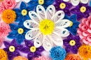 Paper Quilling Flowers