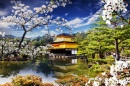Golden Temple in the Japanese Garden
