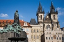 Jan Hus Statue, Old Town Square, Prague