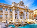 Di Trevi Fountain in Rome, Italy