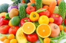 Different Fresh Fruits and Veggies