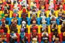 Lego Minifigures On Display