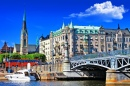 Scenic Canals of Stockholm, Sweden