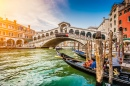 Grand Canal and Rialto Bridge, Venice