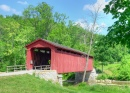 Cataract Falls Covered Bridge, Indiana