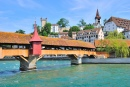 Mill Bridge, Lucerne, Switzerland