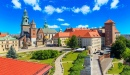 Wawel Castle with Gardens, Cracow, Poland
