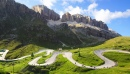 Mountain Road in the Dolomites