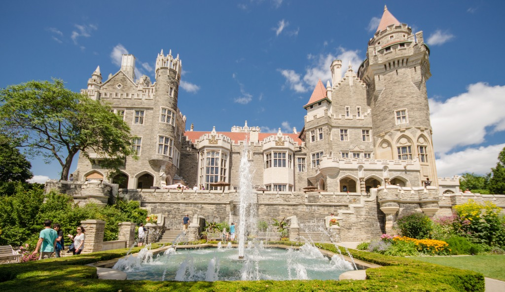 Casa Loma Toronto Canada Jigsaw Puzzle In Puzzle Of The Day Puzzles On Thejigsawpuzzles Com