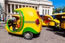 Small Tourist Taxis in Havana