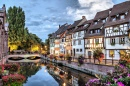 River Lauch at the Evening, Colmar, France