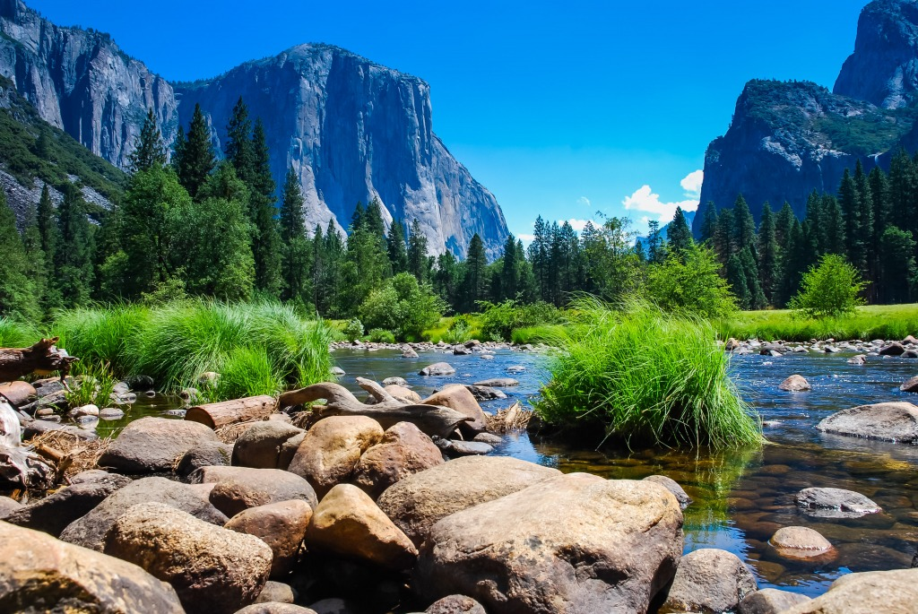 El Capitan Yosemite National Park Jigsaw Puzzle In Great