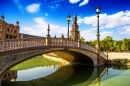 Leon Bridge in Sevilla, Spain