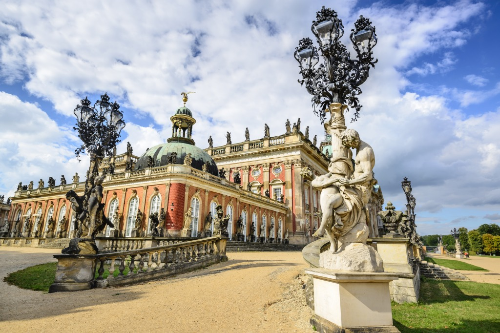 neues palais in potsdam germany jigsaw puzzle in puzzle of the day puzzles on. Black Bedroom Furniture Sets. Home Design Ideas