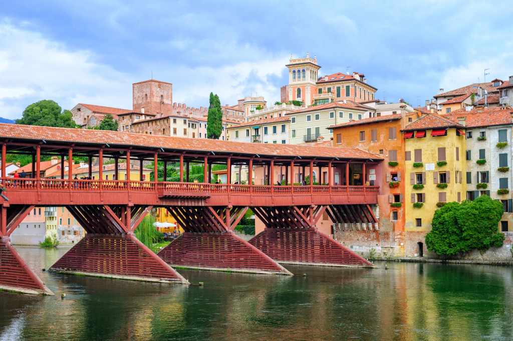 bassano del grappa italy jigsaw puzzle in bridges puzzles. Black Bedroom Furniture Sets. Home Design Ideas