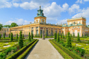 Royal Wilanow Palace In Warsaw, Poland