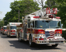 Fire Engines on Memorial Day