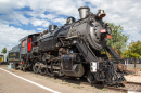 Steam Engine on Display in Williams AZ