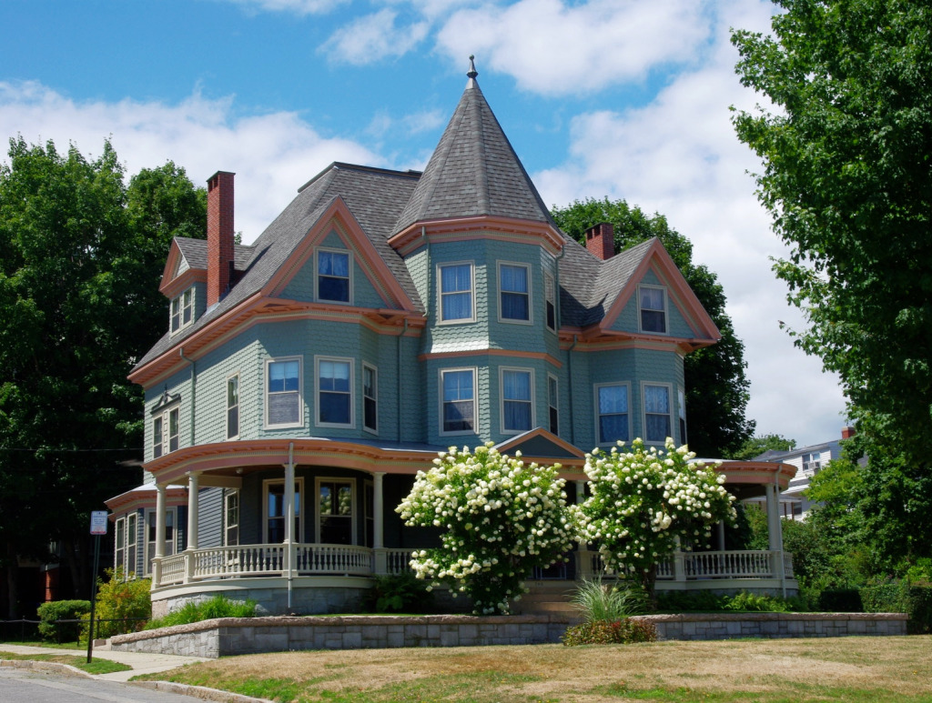 victorian house in portland  maine jigsaw puzzle in street view puzzles on thejigsawpuzzles com