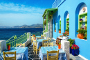 Greek Restaurant, Dodecanese Islands