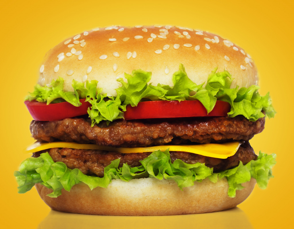 Big Burger Jigsaw Puzzle In Food Amp Bakery Puzzles On