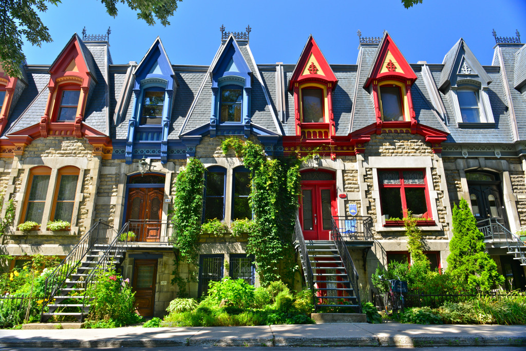 Montreal Victorian Houses