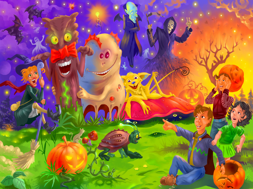 Happy Halloween Jigsaw Puzzle In Puzzle Of The Day