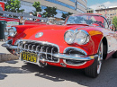 1960 Red Corvette in Montreal