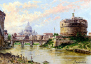 A View of the Tiber