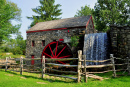 Stone Grist Mill in Sudbury, Massachusetts